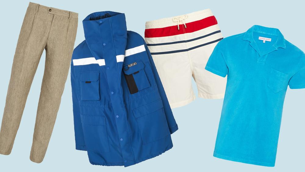Luxury Menswear for Sailing