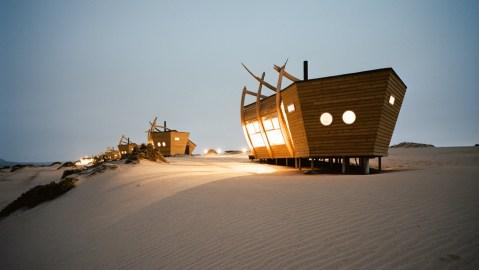 Natural Selection's Shipwreck Lodge, Namibia