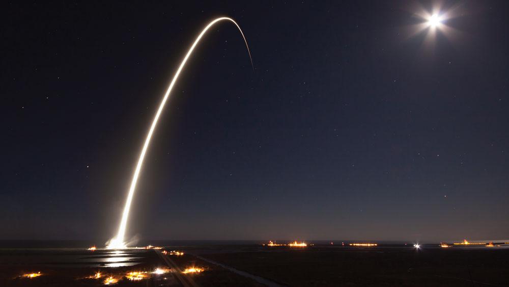 SpaceX Big Falcon Rocket