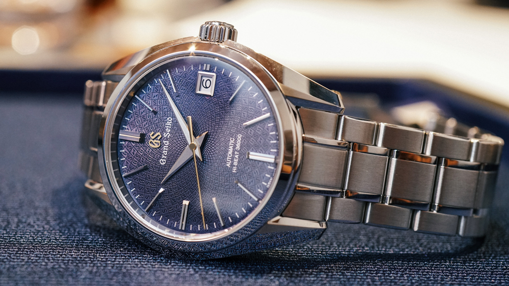Grand Seiko watch from Topper Jewelers