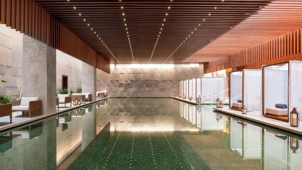 The Bulgari Hotel, Shanghai pool