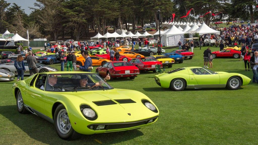Monterey Car Week's Concorso Italiano.
