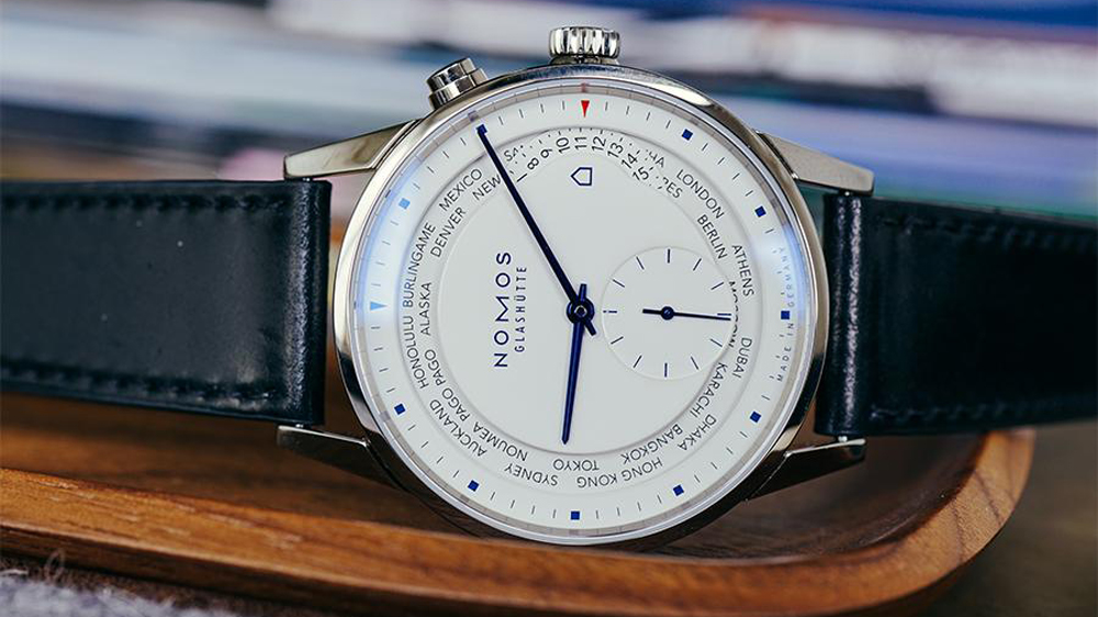 Nomos watch from Topper Jewelers