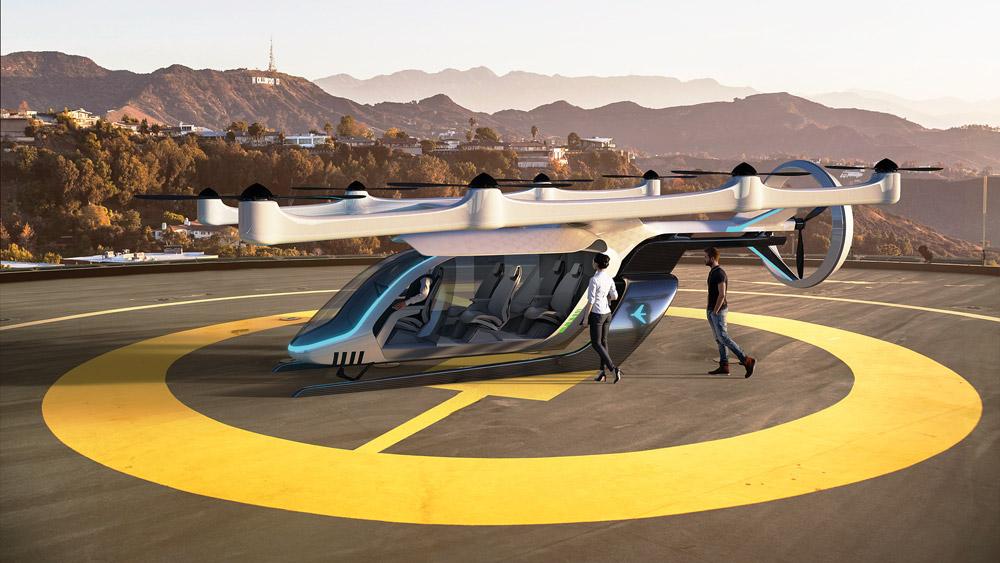 eVOTL Aircraft Concept