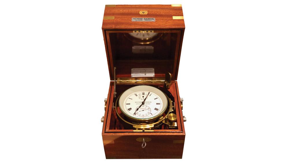Ulysse Nardin clock