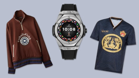 World Cup–Inspired Luxury Men's Clothing