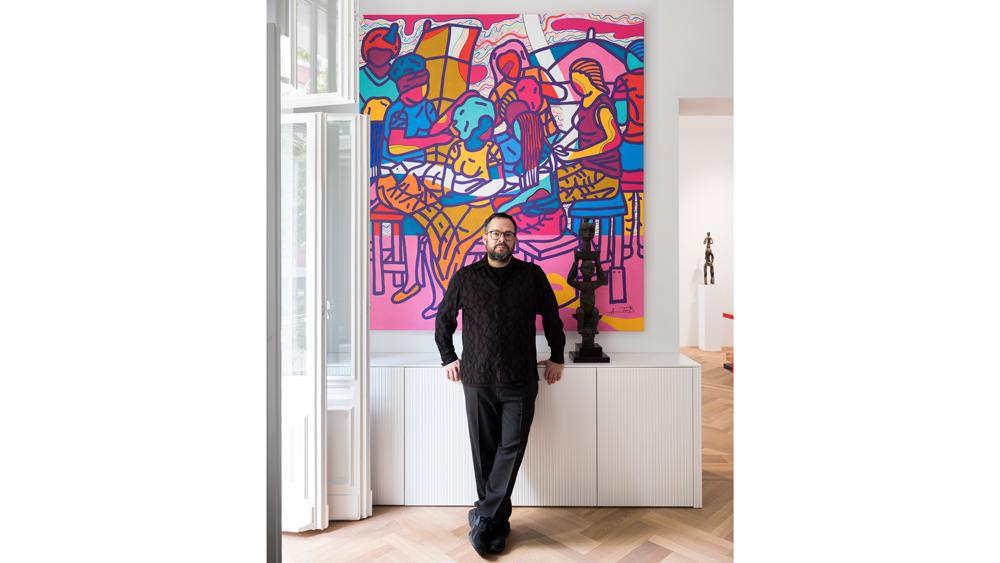 Javier Perez art collection