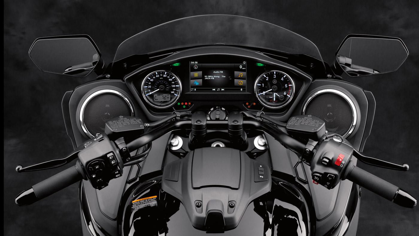 The 2018 Yamaha Star Eluder.