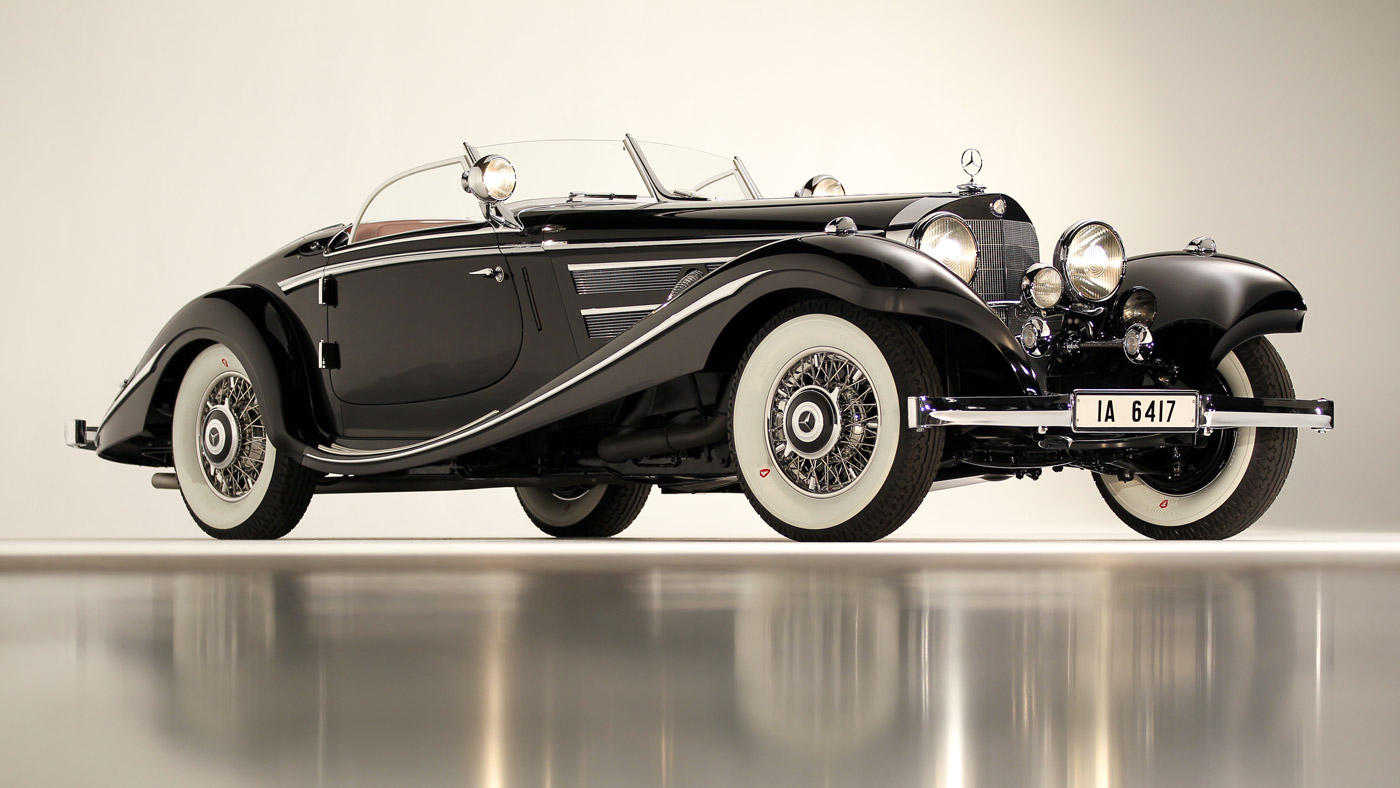 1936 Mercedes-Benz 540 K Special Roadster.
