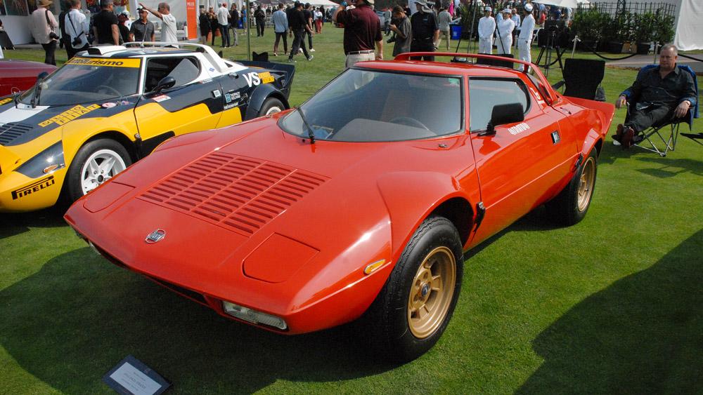 A 1974 Lancia Stratos.