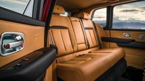 Inside a Rolls-Royce Cullinan SUV