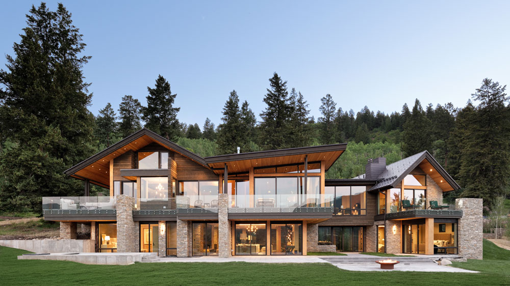 Tiehack House Aspen exterior