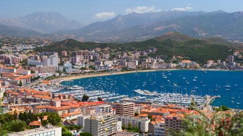 Ajaccio Corsica Seaside