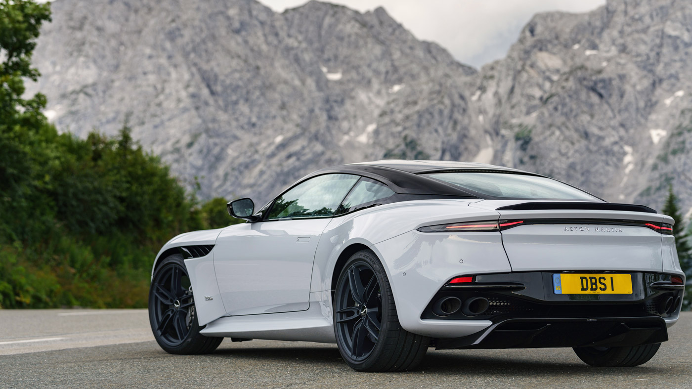 The Aston Martin DBS Superleggera in Germany.