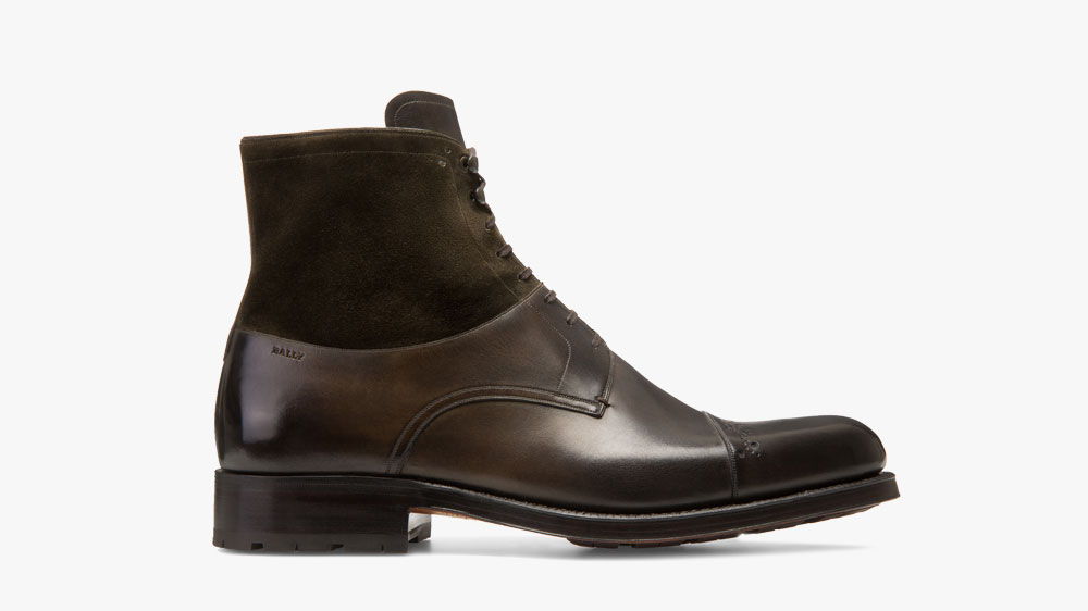 Bally Lace-Up Boots