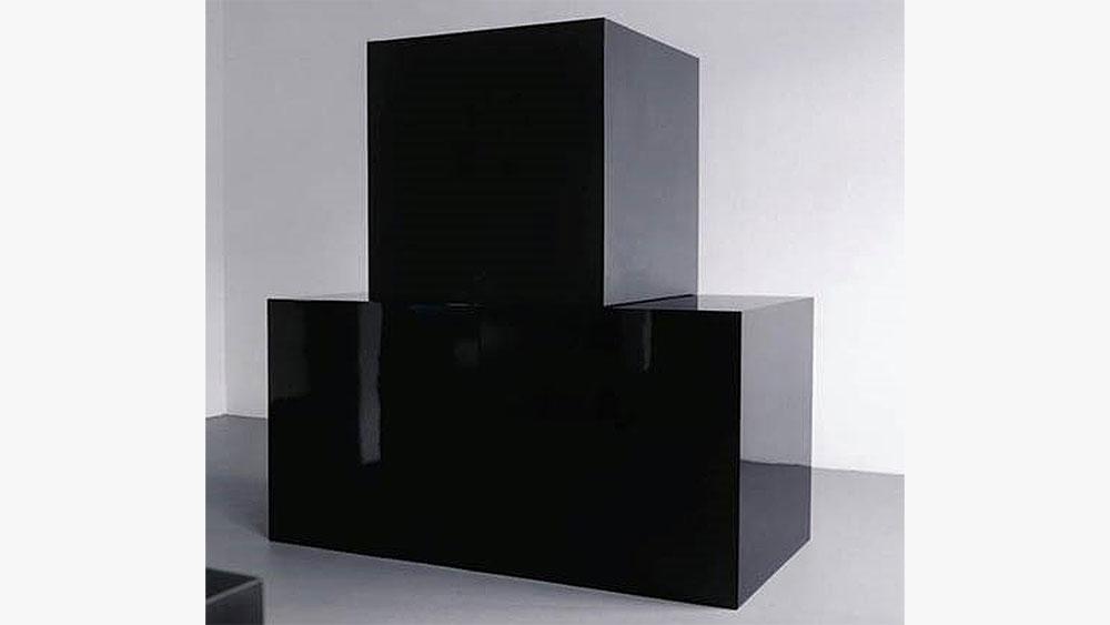 Sol LeWitt Black Cubes