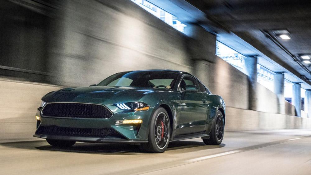The 2019 Ford Mustang Bullitt.