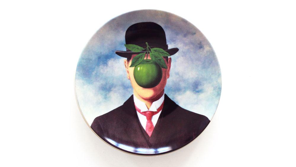 Magritte La Grande Guerre Plate
