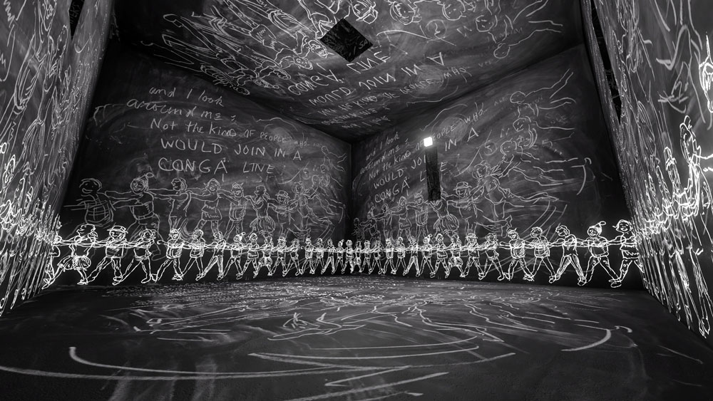 Laurie Anderson The Chalkroom 2017