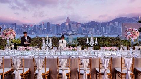 Peninsula Hong Kong champagne