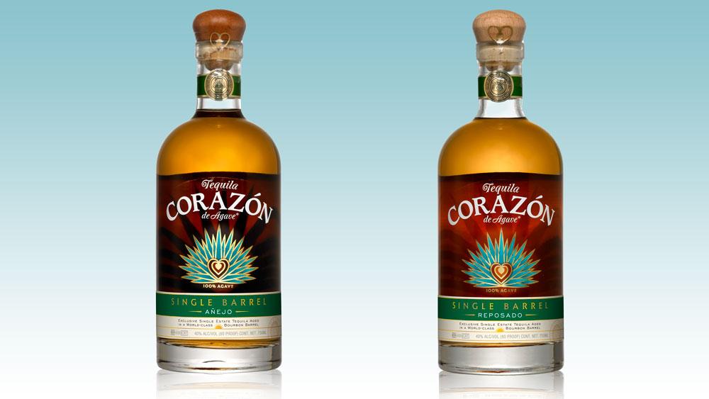 Corazón Single Barrel tequila
