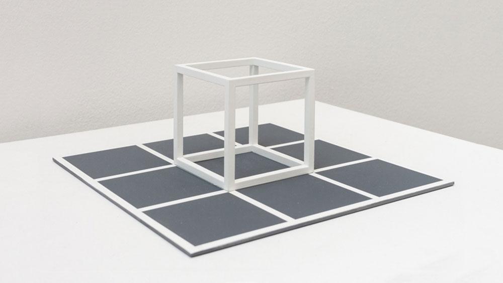 Sol LeWitt Cube/Base