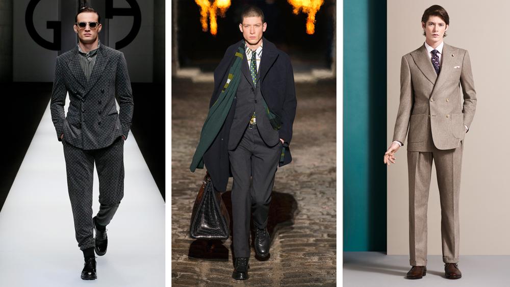 Fall Suits men's fashion