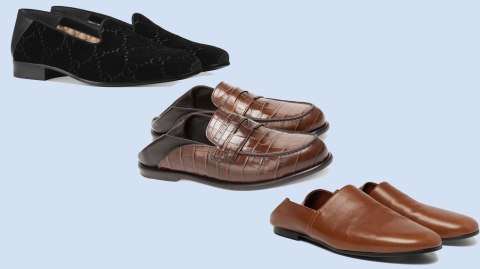 Loafers from Gucci, Loewe, and Sandro