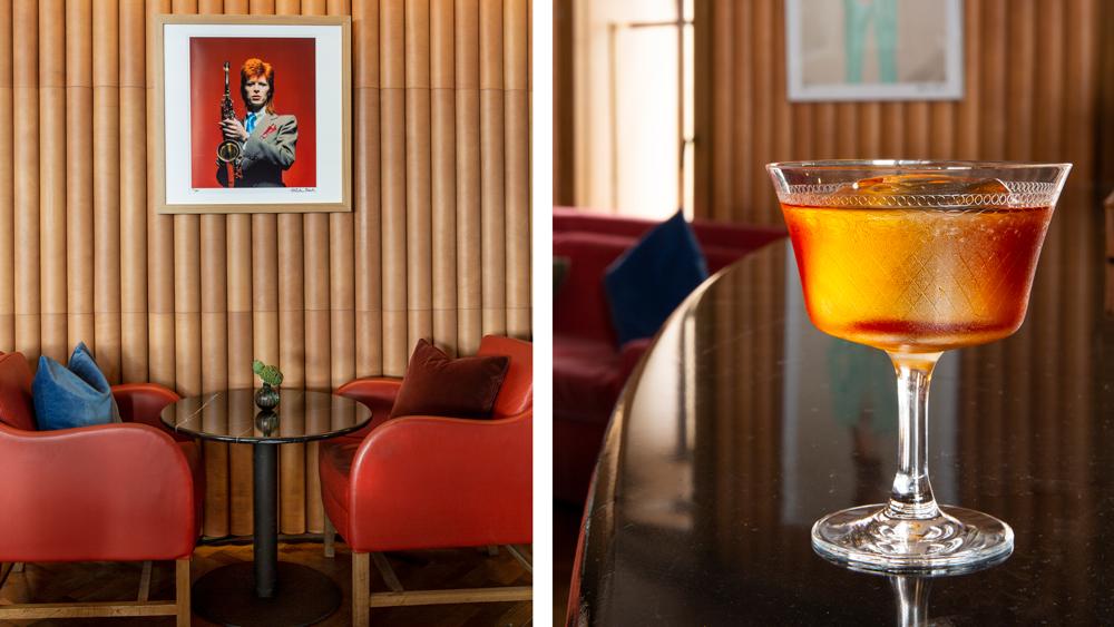 London's Hotel Café Royal Ziggy's Bar