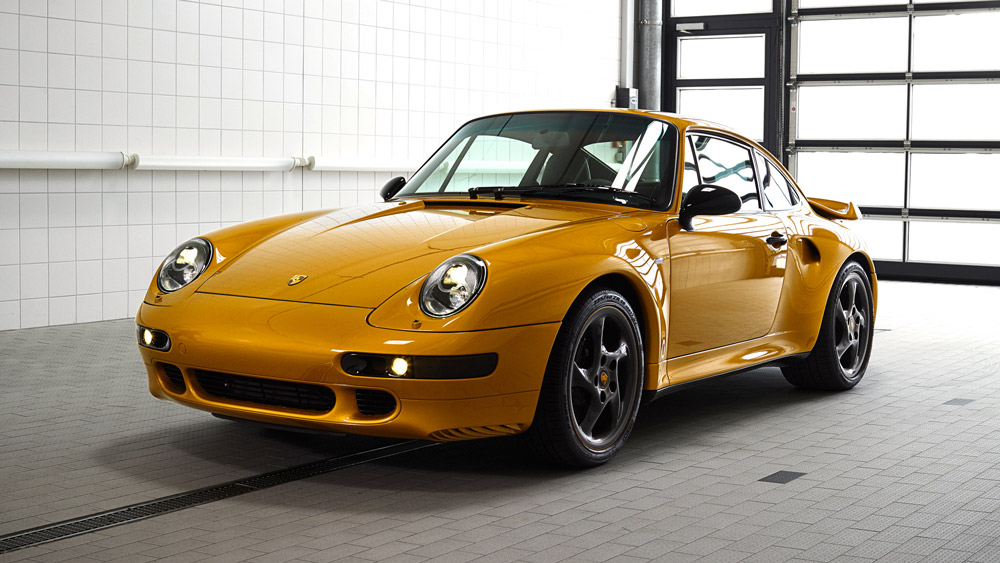Porsche's Project Gold, a restored 993 from 1998.