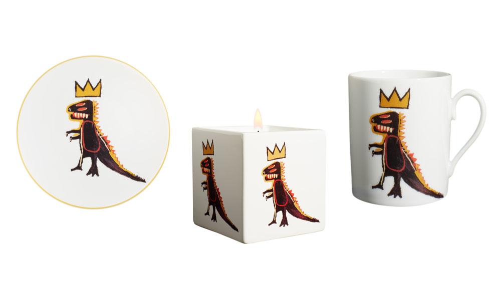 Golden Dragon Basquiat Pez Dispenser