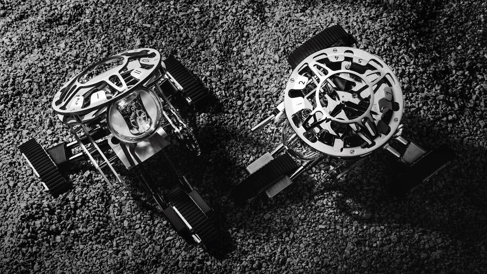 MB&F x L'Epee Grant Table Clock
