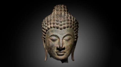 14th-century Head of the Buddha