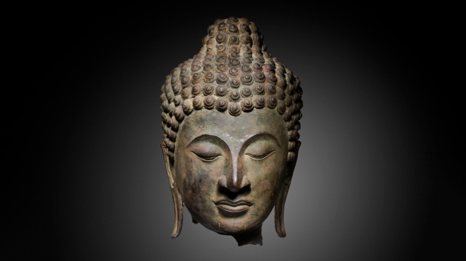 14th-century Head of the Buddha