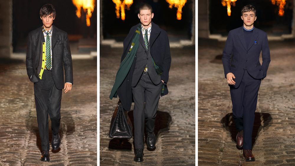 Hermès Fall Suits