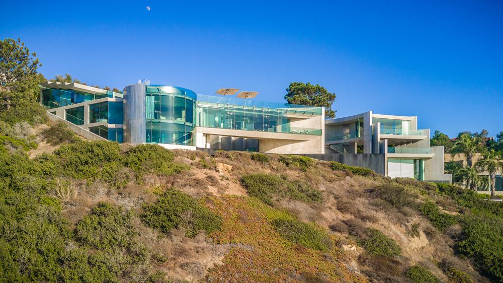 The Razor House in La Jolla, California