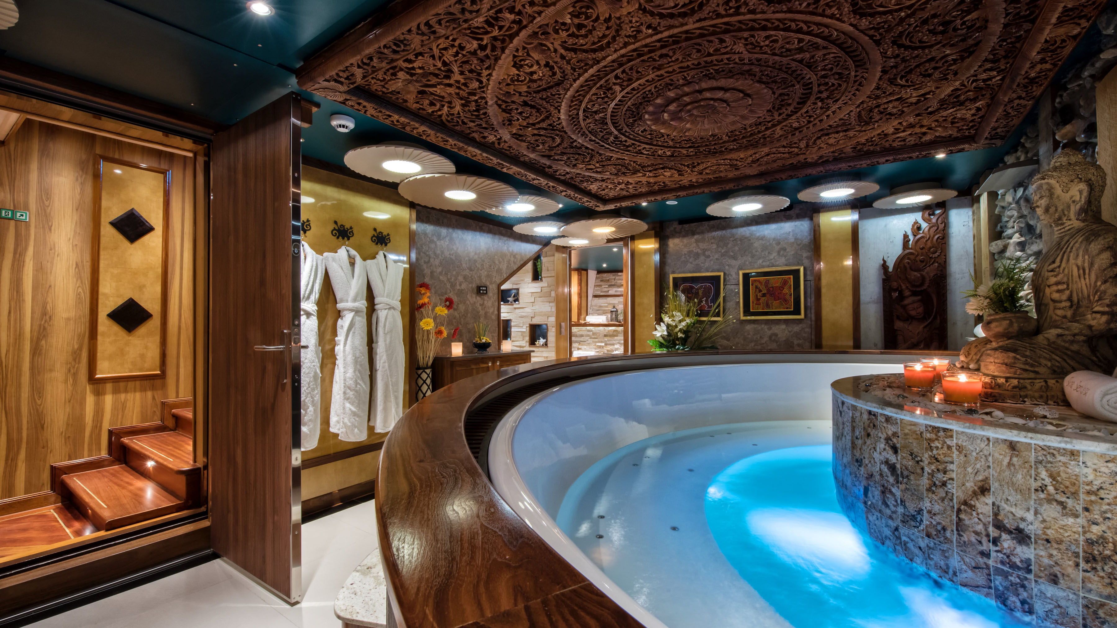 Icon Legend expedition yacht spa