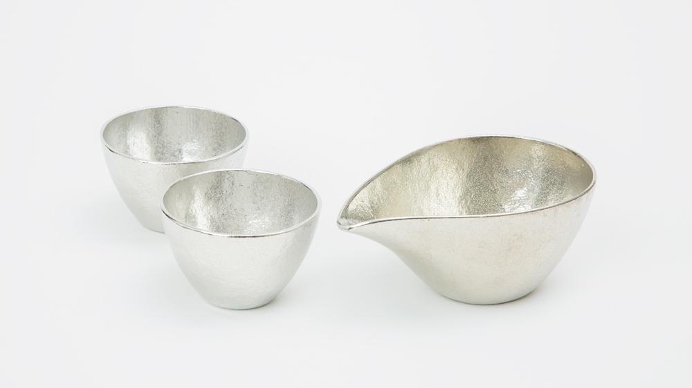 Nousaku Tin Sake Set