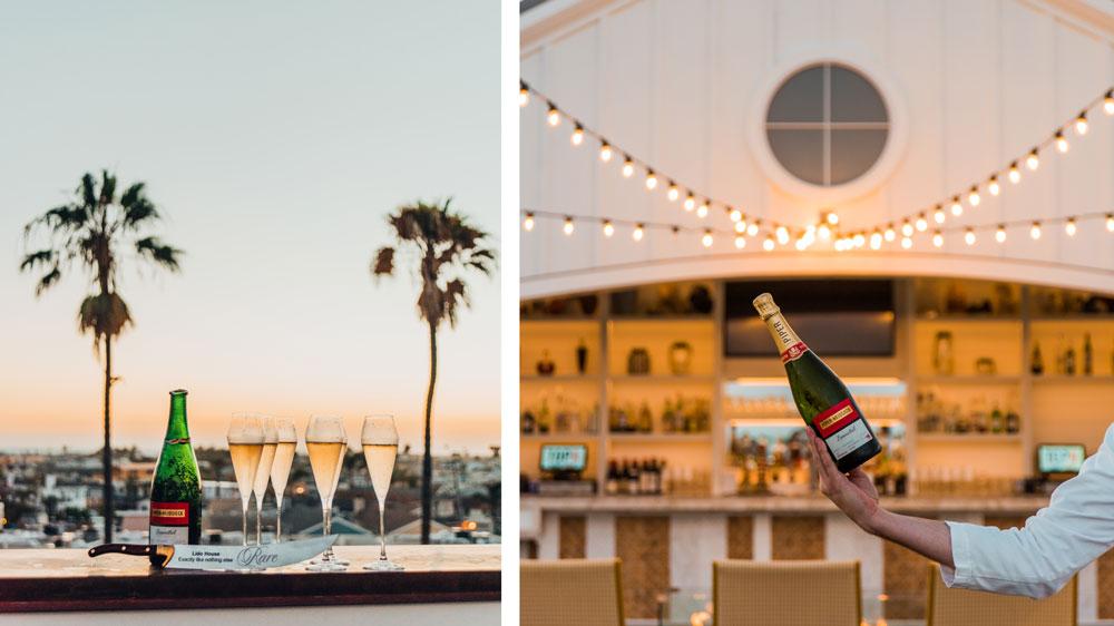 Lido House champagne