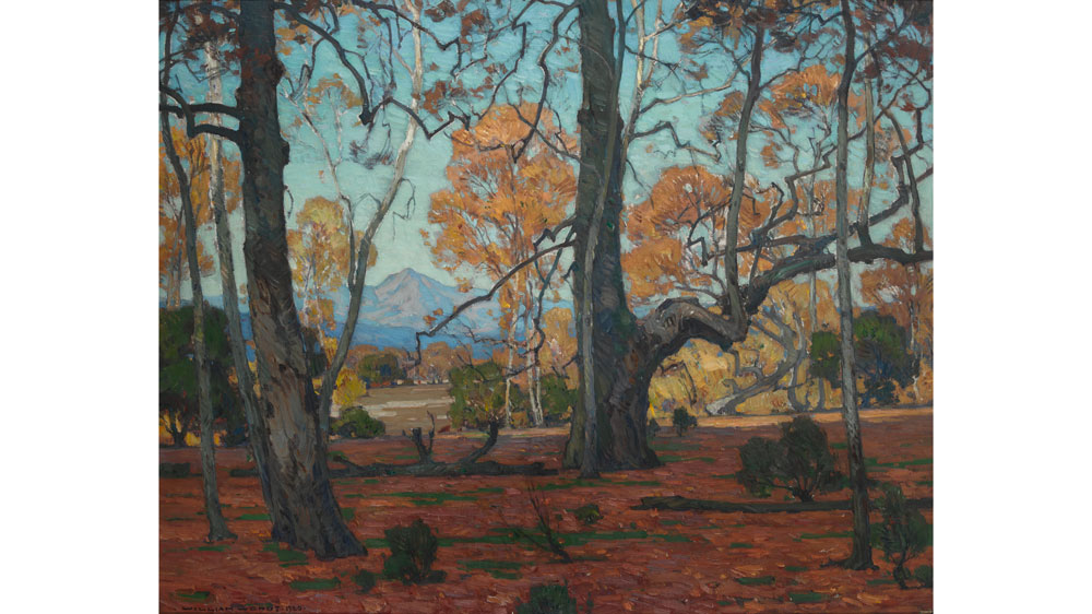 William Wendt Patriarchs of the Grove