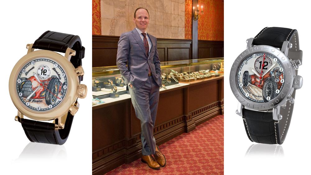 Grenon's of Newport watches