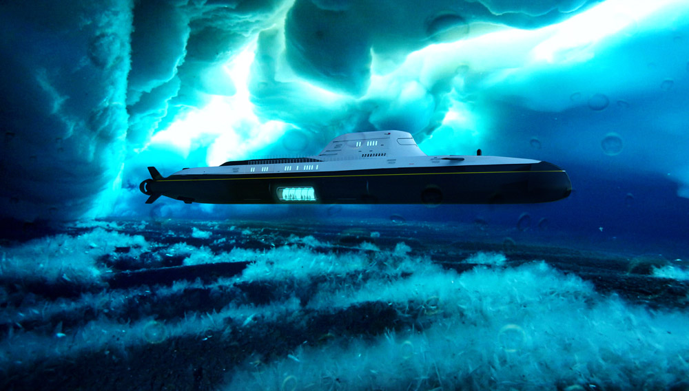 Migaloo M5 Private Submersible Yacht