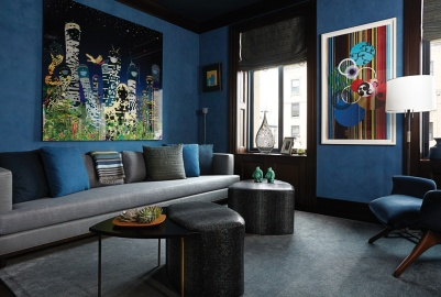 New York City Home in Apthorp Building