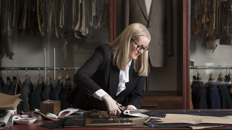 Master tailor Kathryn Sargent