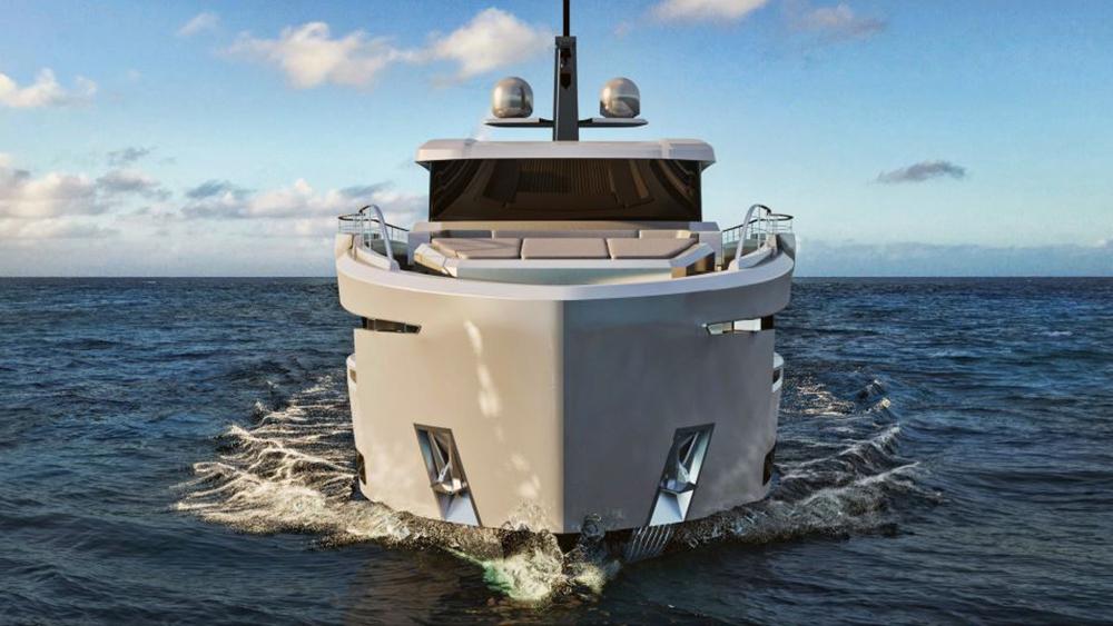 Ocean King Ducale 88 explorer yacht