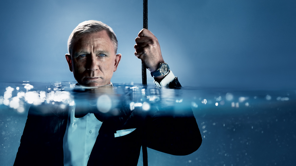 Daniel Craig Omega watch