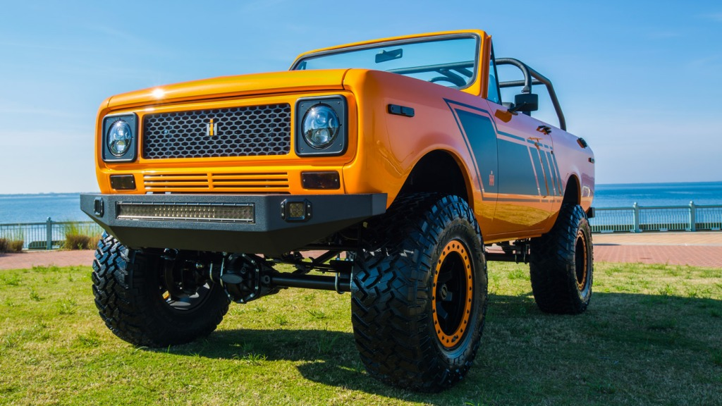 The reborn 1979 International Harvester Scout II, from Velocity Restorations.