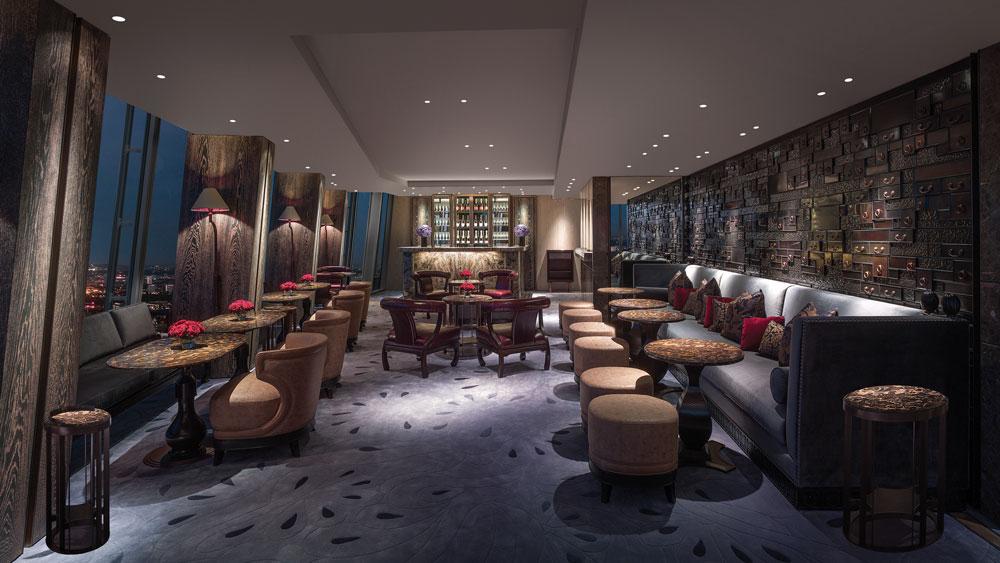 Shangri-La London Champagne Bar