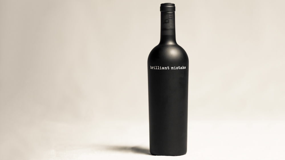 Brilliant Mistake wine