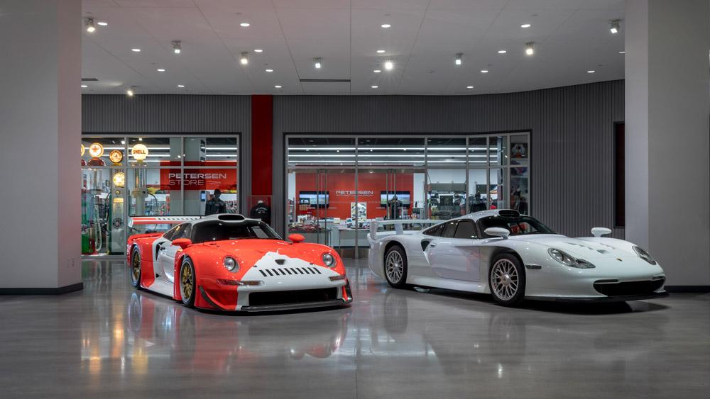 The Petersen Automotive Museum.